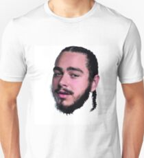Post Malone Pattern and Waterpaint Unisex T-Shirt