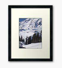 Mt. Rainier, Washington Framed Print