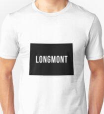 Longmont, Colorado Silhouette T-Shirt