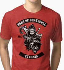 SONS OF GRAYSKULL!! Tri-blend T-Shirt