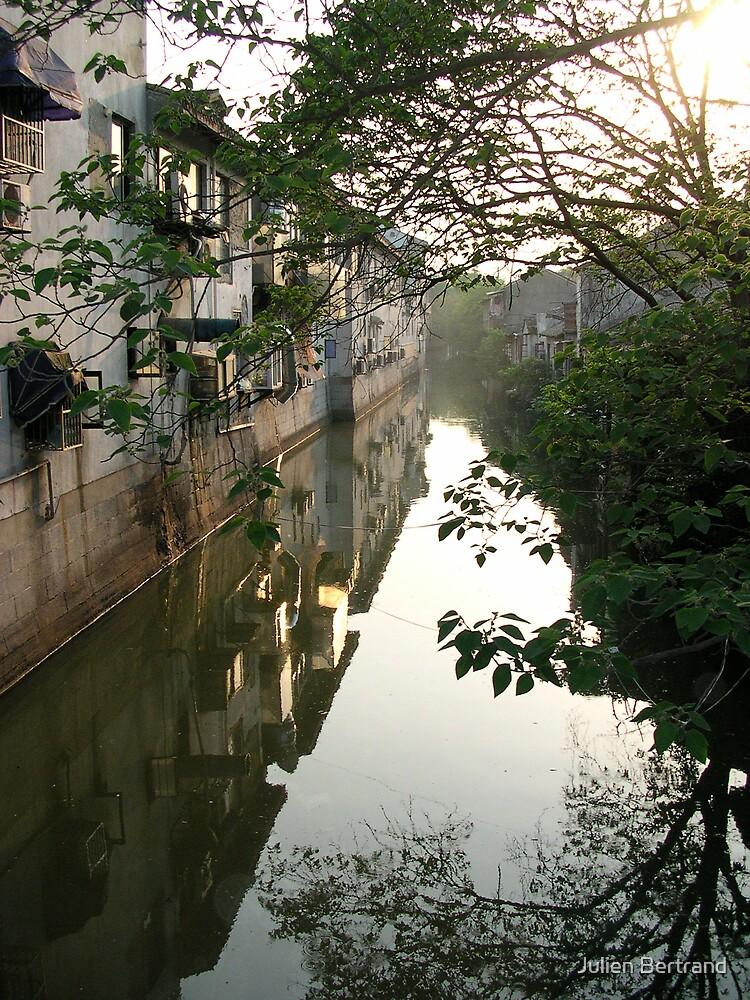 Suzhou Canal by Julien Bertrand
