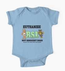 EUTHANIZE BREED SPECIFIC LEGISLATION One Piece - Short Sleeve