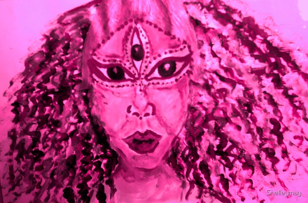 Goddess in Pink by Shelleymay