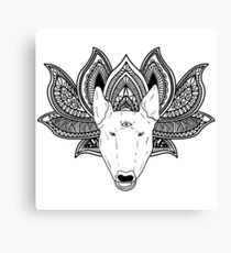 Wise Bully Canvas Print