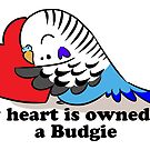 My heart belongs to a blue budgie by lifewithbirds
