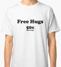 free hugs white/colour Classic T-Shirt