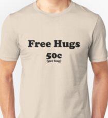 free hugs white/colour Unisex T-Shirt