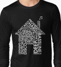 House-Musikgenres Langarmshirt