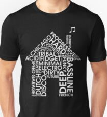 House Music Genres Unisex T-Shirt