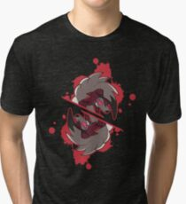 Midnight Lycanroc Tri-blend T-Shirt