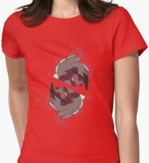 Midnight Lycanroc Womens Fitted T-Shirt