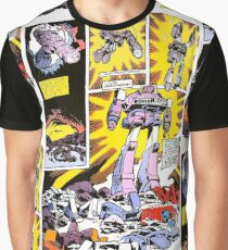 Shockwave Comic Graphic T-Shirt