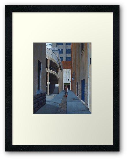 Secret Meeting IV, Oil on Linen, 101x83cm by Jason Moad