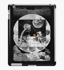 Space Moon Planet Basketball Astronaut Sports iPad Case/Skin
