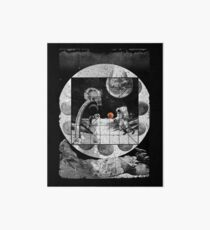 Space Moon Planet Basketball Astronaut Sports Art Board