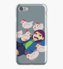 SHANE AND THE CHICKENS iPhone Case/Skin