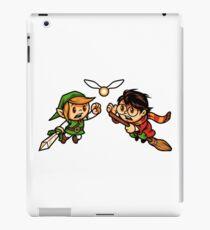 Link & Harry iPad Case/Skin
