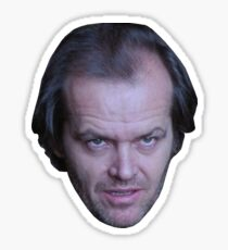 The Shining - Jack Torrance Stare Sticker