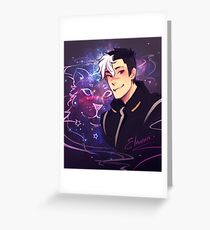 Space Daddy Greeting Card
