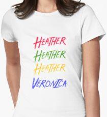 Beautiful   Heathers Women's Fitted T-Shirt