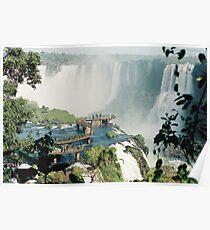Iguazu in Brazil Poster