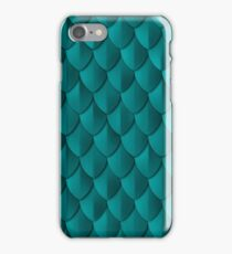 Scale Armor - Teal iPhone Case/Skin