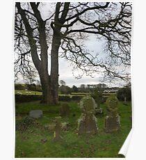 Graves At Prestatyn Poster