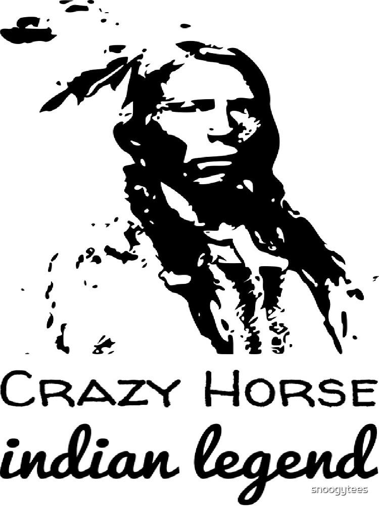 Crazy Horse Indian Legend by snoogytees