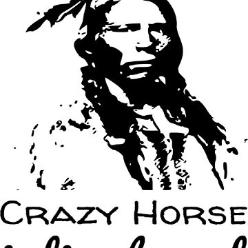 Crazy Horse Indian Legend by snoogytees