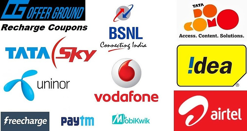 Recharge Coupons - Offerground.com by Offer Ground