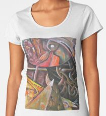 Five Stages of Consciousness -B Women's Premium T-Shirt