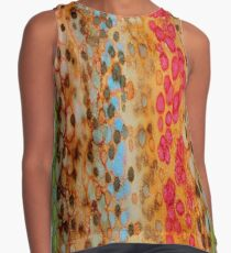 The Rainbow Leopard Contrast Tank
