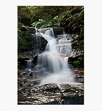 Leura Cascades in The Blue Mountains Photographic Print