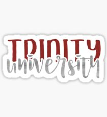 Trinity University - Style 1 Sticker