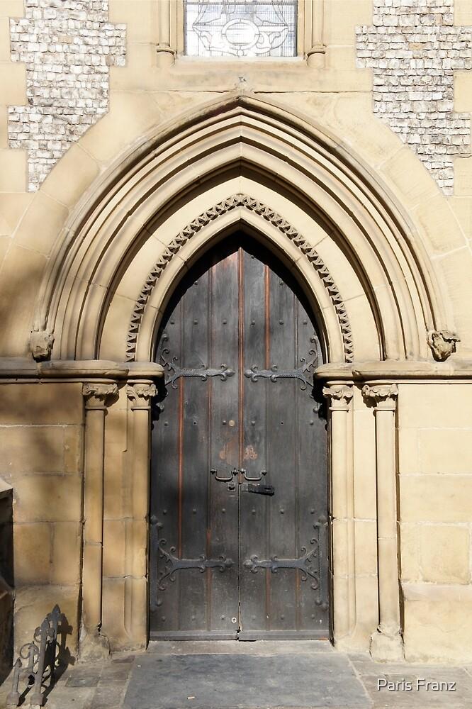 What's through the door? by Paris Franz