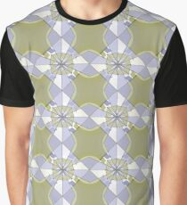 Compass Star - Stained Glass Graphic T-Shirt