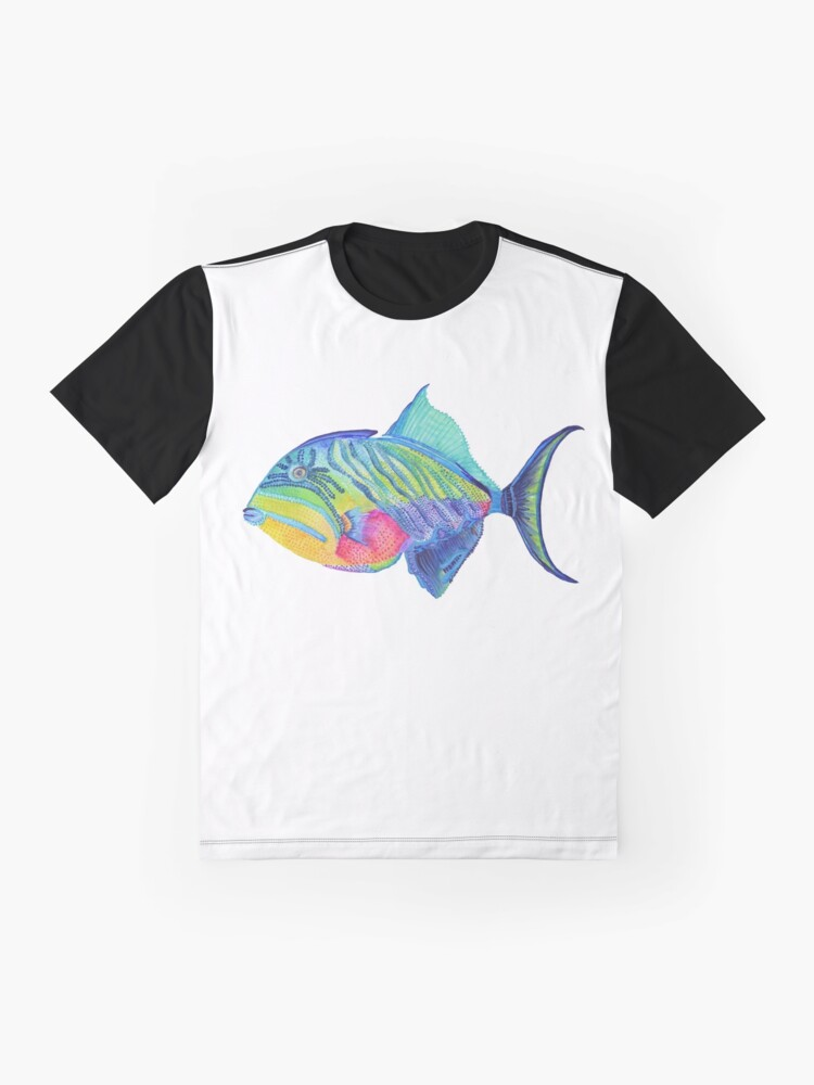 Alternate view of Parrot Fish Graphic T-Shirt
