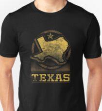 Texas Lonestar State Map Graphic Design Unisex T-Shirt