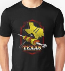 Texas Meat Barbeque Food Graphic Design Unisex T-Shirt