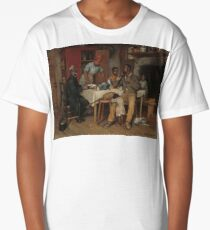A Pastoral Visit Oil Painting by Richard Norris Brooke Long T-Shirt