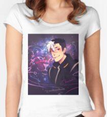 Space Daddy Tailliertes Rundhals-Shirt