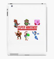 super nintendo iPad Case/Skin