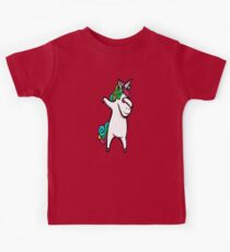 Dabbing Unicorn Kids Tee