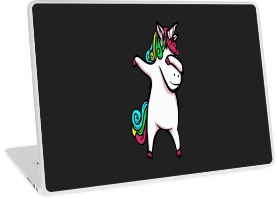 Dabbing unicorn by milehightees