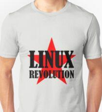 Linux Revolution Large Unisex T-Shirt