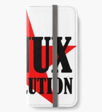 Linux Revolution Large iPhone Wallet/Case/Skin