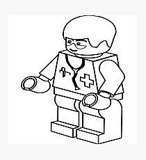 Lego Doctor Photographic Print