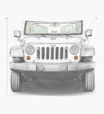 Jeep Wrangler Sport Wall Tapestry