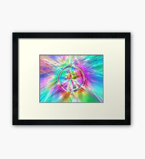The Sky is Alive Framed Print