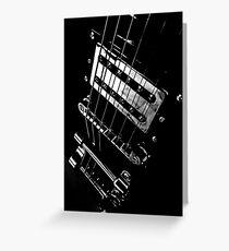 6 strings of joy Greeting Card